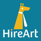 HireArt for startups